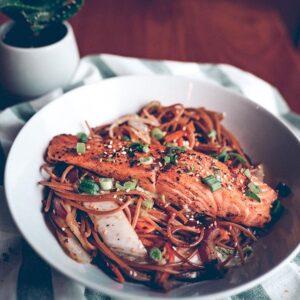 Salmão Thai